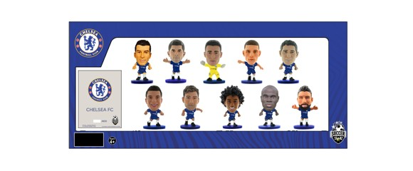 Soccerstarz - Chelsea Team Pack 10 players (2019/20 Version)