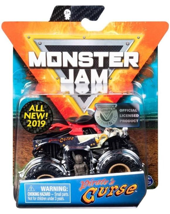 Monster Jam - 1:64 Single Pack - Pirate's Curse (20103401)