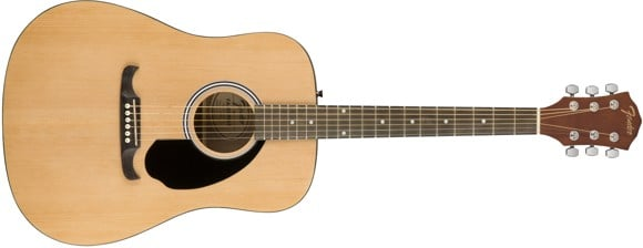 Fender - FA-125 - Akustisk Guitar (Natural)