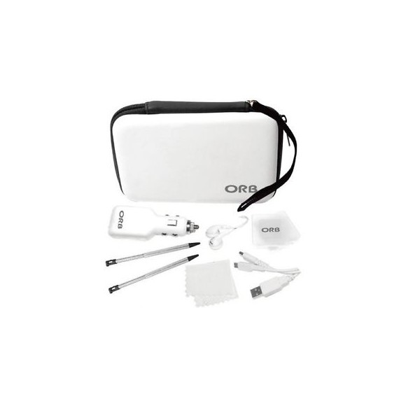 ORB Nintendo 3DS XL/DSI XL Accessory Pack (White)