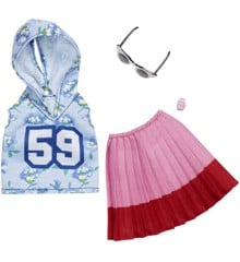 Barbie - Complete Looks - Hoddie, Skirt And Accessory (FXJ10)