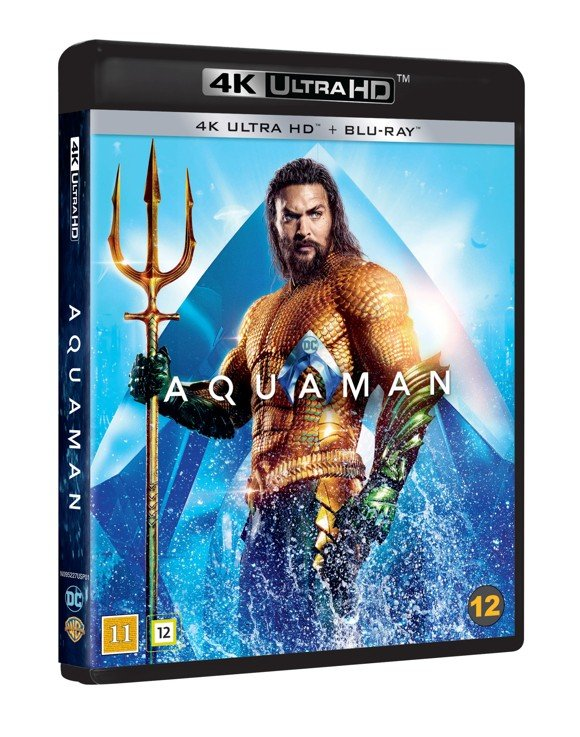 Aquaman - 4K Blu ray