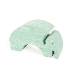 bObles Elefant - Lys grøn marmor