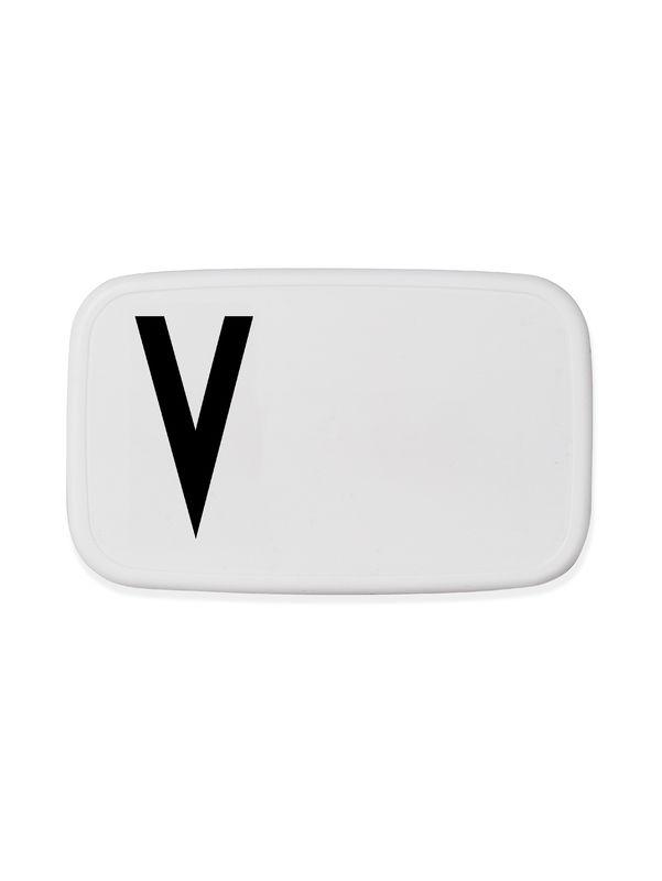 Design Letters - Personal Lunch Box - V (20203000V)