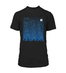 ​Minecraft T-shirt Constellations Clow 13-14 Years