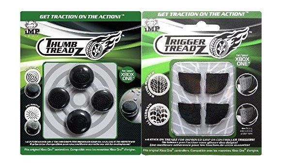 Trigger Treadz: Multiplayer Thumb & Trigger Grips Pack (Xbox One)
