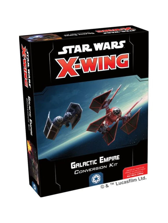 Star Wars - X-Wing - 2nd Edition - Galactic Empire - Conversion Kit