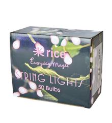 Rice - LED String Lights - Pink
