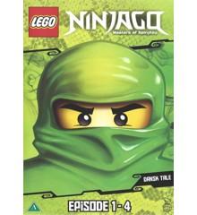 LEGO: Ninjago (Series) - Sæson 1 - DVD