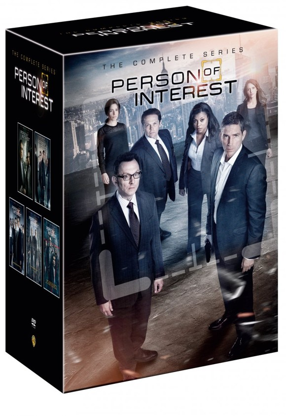 Person Of Interest - season 1-5 - DVD