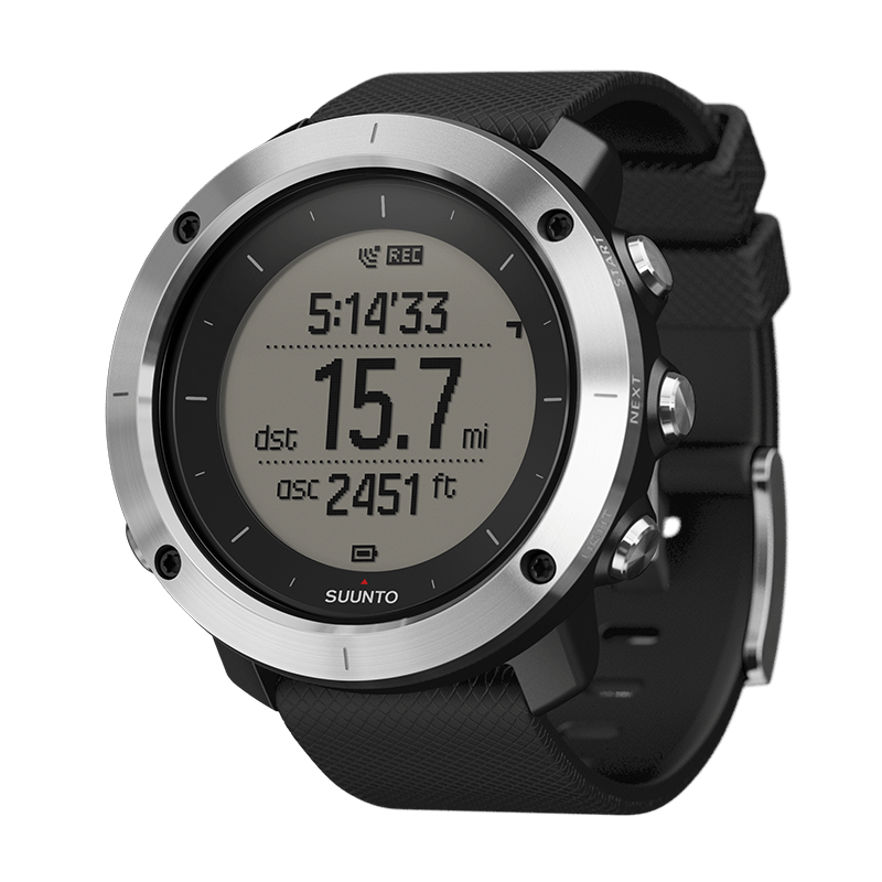 Suunto - Traverse Black Outdoor GPS Watch