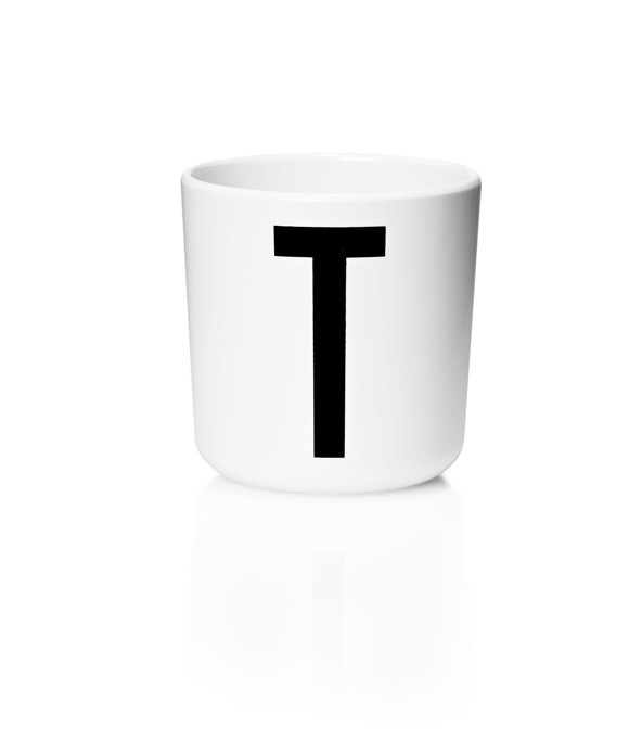​Design Letters - Personal Melamine Cup T - White (20201000T)