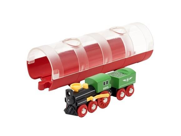 BRIO - Damp Tog & Tunnel (33892)