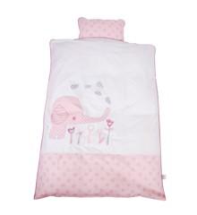 Baby Dan - Junior Bedcover Elefantastic - Pink