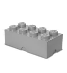 Room Copenhagen - LEGO Opbevaringskasse Brick 8 -  Sten Grå