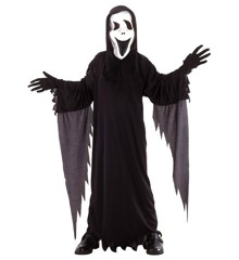 RIO  - Halloween Scream Ghost kostume - Small - 120 cm