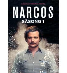 Narcos - Sæson 1 - Svensk udgave - DVD