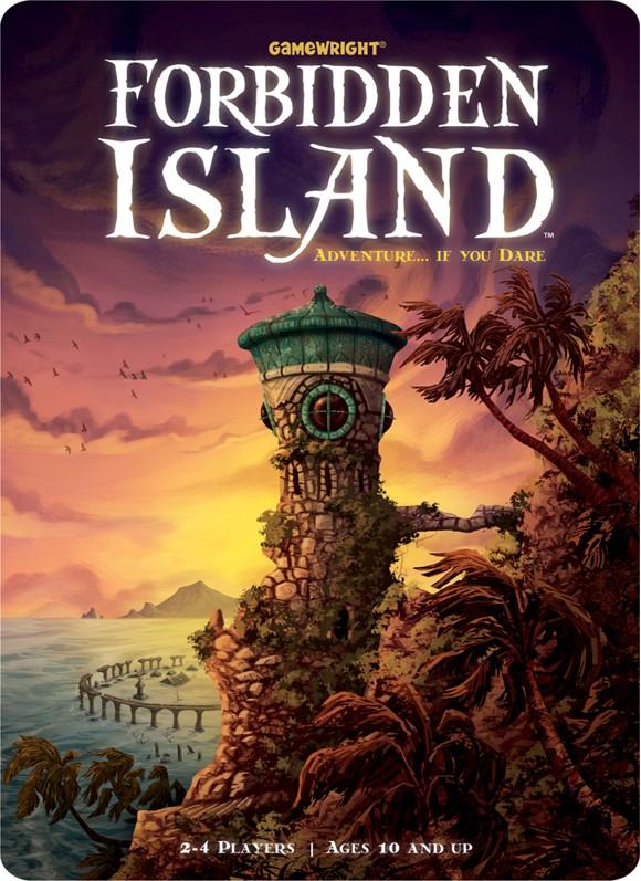 Forbidden Island - Brætspil (Engelsk)