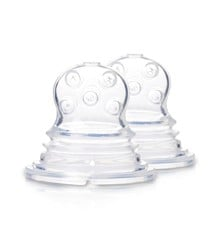 Kidsme - 2 Pack Refill Squeezer - Silicone - Cross Holes Sac