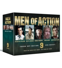 Men of Action Box (9-disc) - DVD