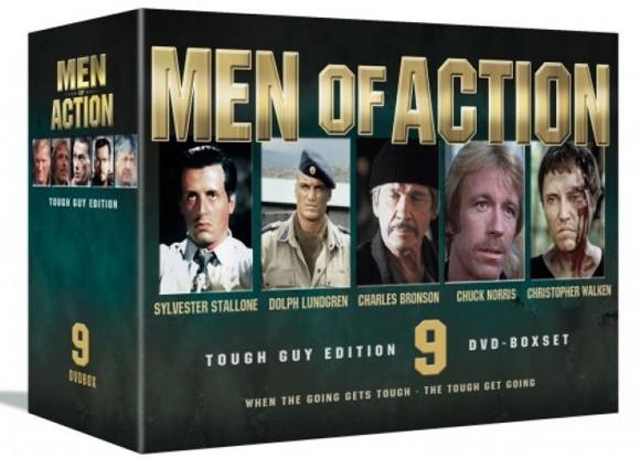 Men of Action Box (9-disc) - DVD