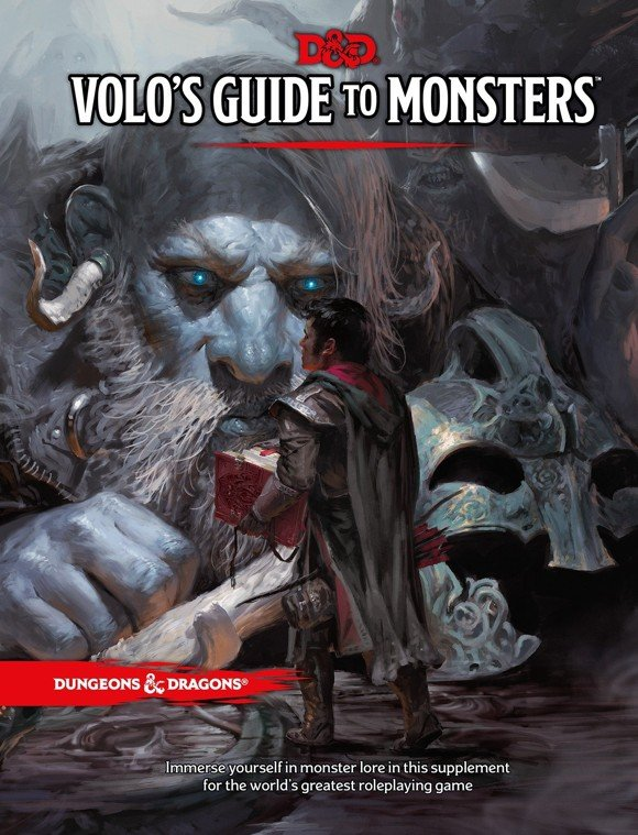 Dungeons & Dragons - Role Play - 5th Edition Volo´s Guide to Monsters (D&D) (Engelsk)