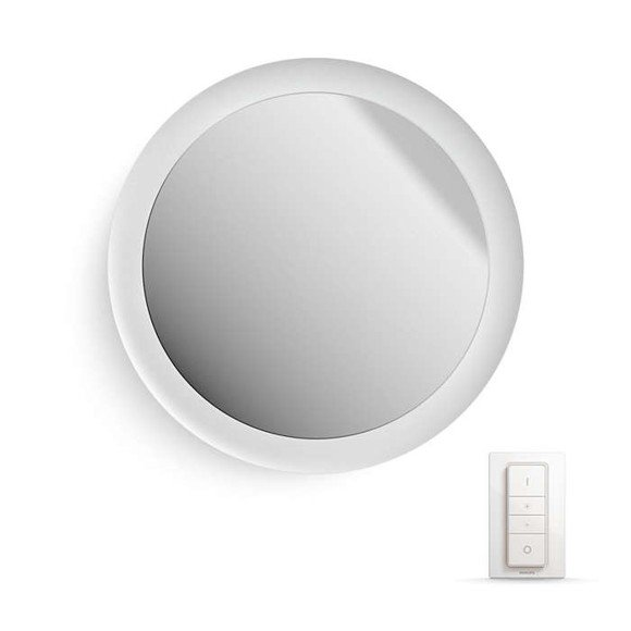 Philips Hue - Adore Bathroom Lighted Mirror - White Ambiance