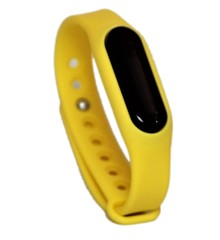 Go-tcha Wristband Yellow Strap