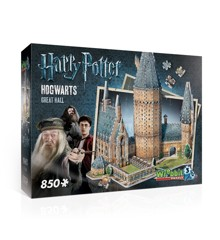 Wrebbit 3D Puzzle - Harry Potter - Hogwarts, Great Hall