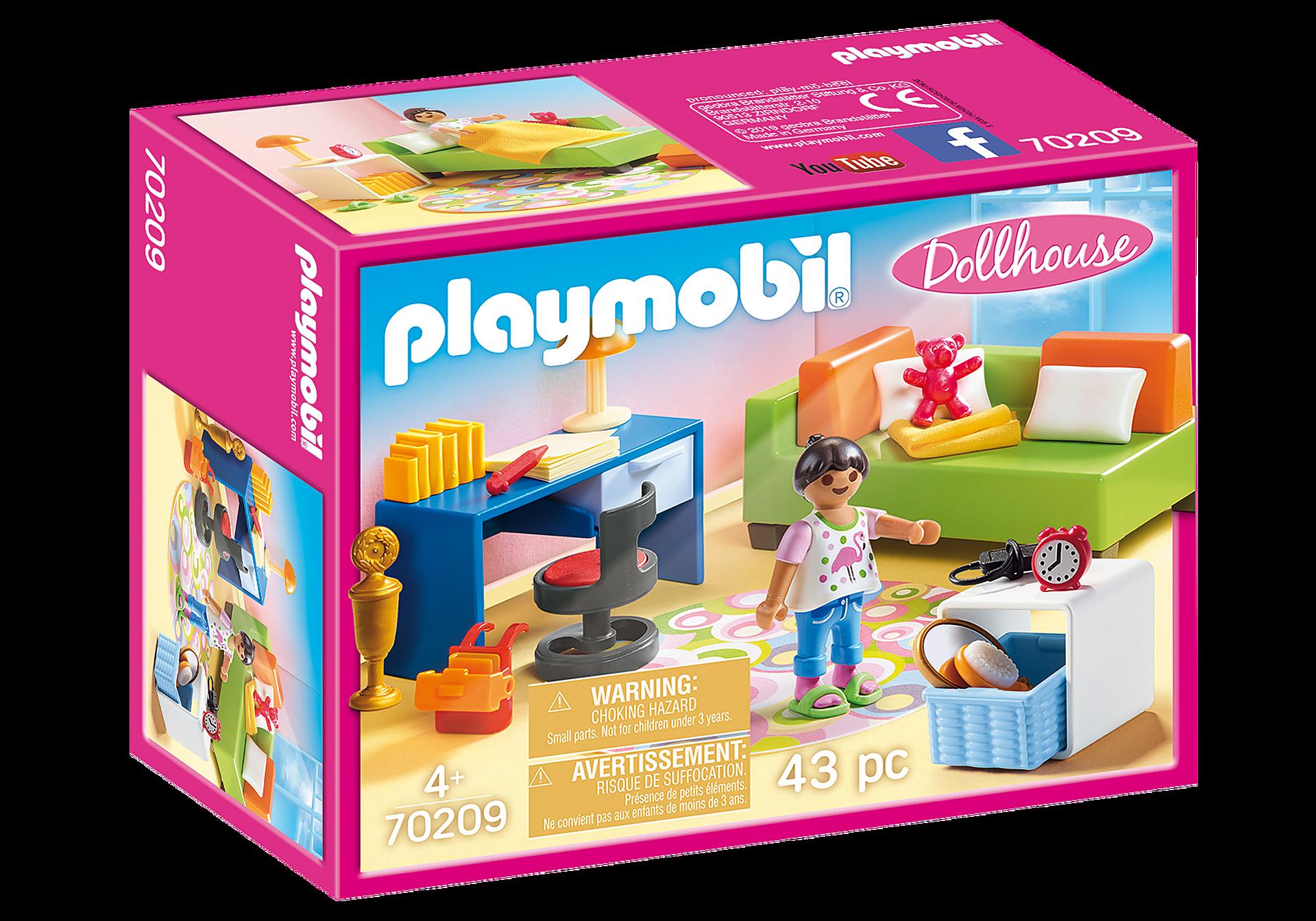 Playmobil - Teenagers room (70209)