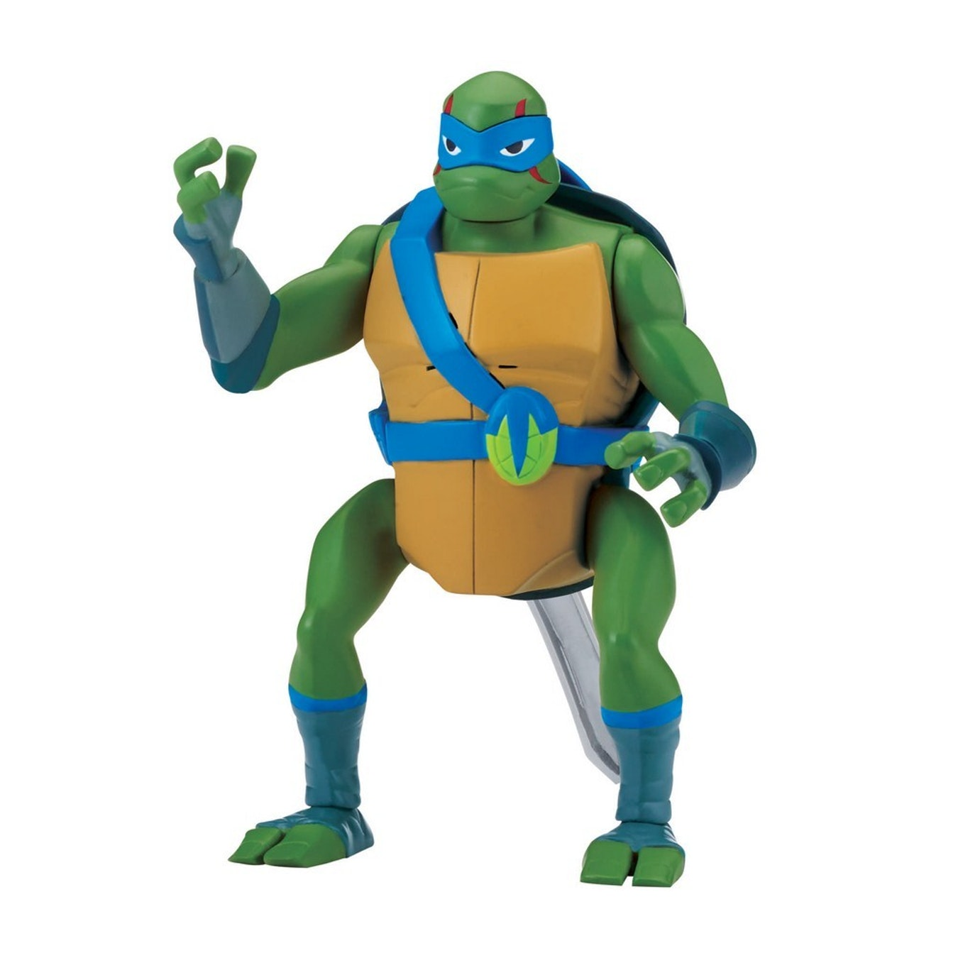 The Rise of The Teenage Mutant Ninja Turtles Deluxe Leonardo Backflip Attack