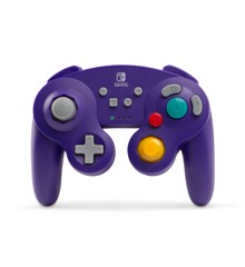 PowerA Wireless Controller Gamecube Style Purple