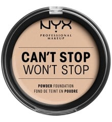 NYX Professional Makeup - Can't Stop Won't Stop Powder Foundation - Alabaster