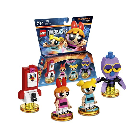 LEGO Dimensions Team Pack: PowerPuff Girls