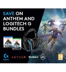 Logitech G935 Wireless 7.1 LIGHTSYNC Gaming Headset Anthem Games Bundle PS4