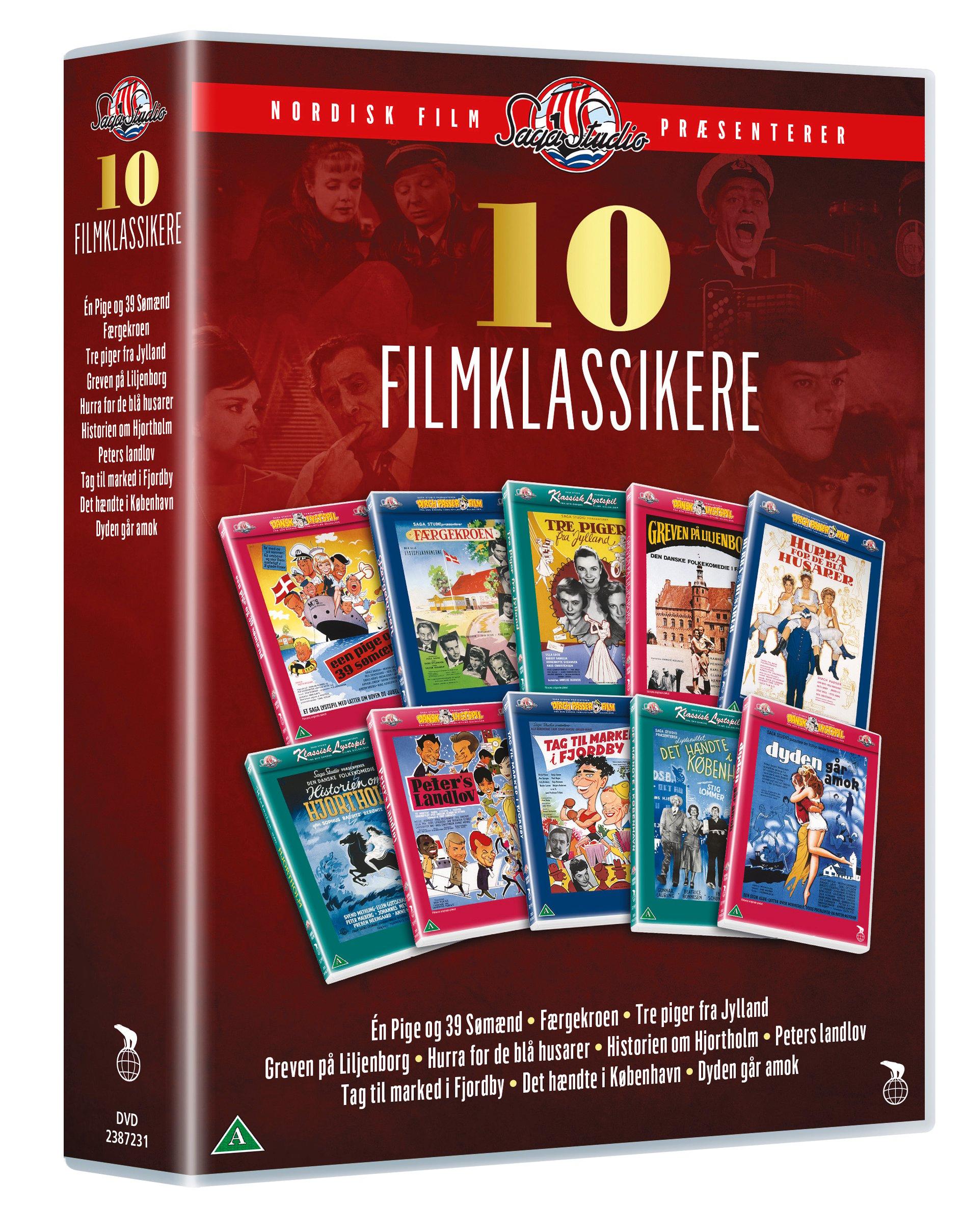 Bilde av 10 Filmklasikkere - Saga Studio