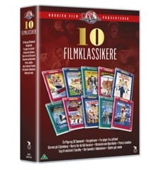 10 filmklasikkere - Saga studio