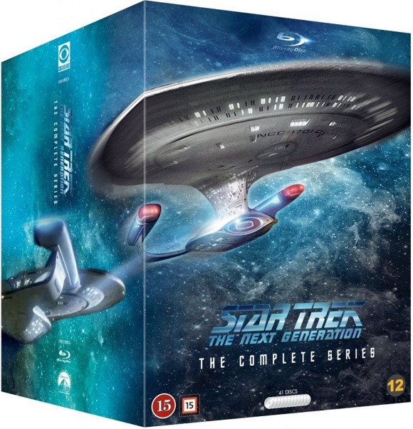 Star Trek - The Next Generation: Complete Collection (41 disc) (Blu-Ray)