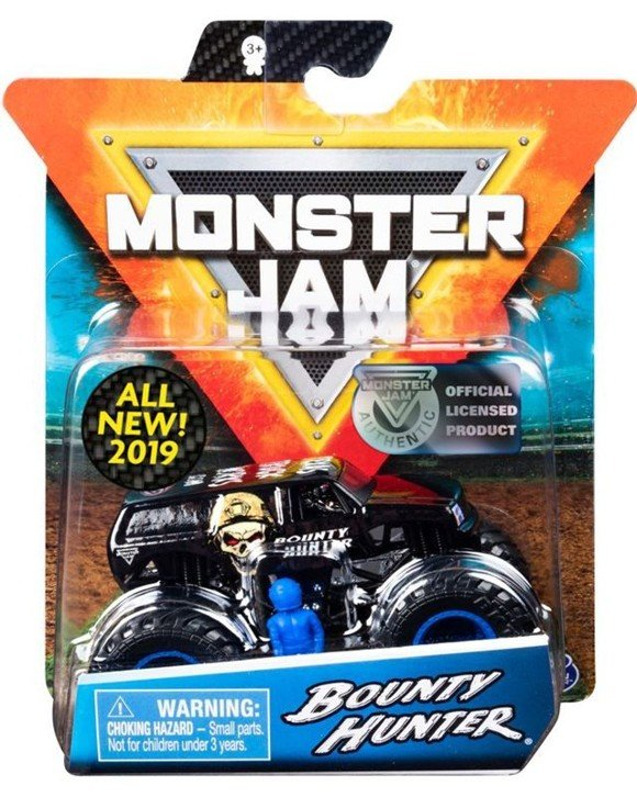Monster Jam - 1:64 Single Pack - Bounty Hunter (20103405)
