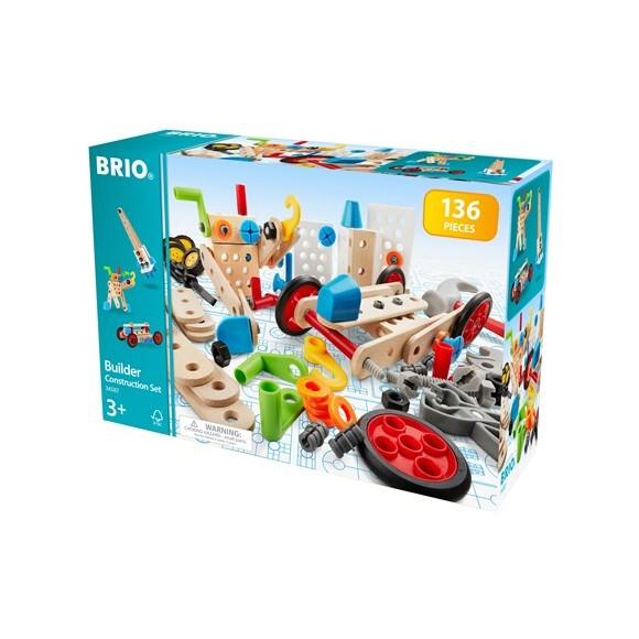 BRIO - Builder Bygge- og konstruksjonssett (brio 34587)