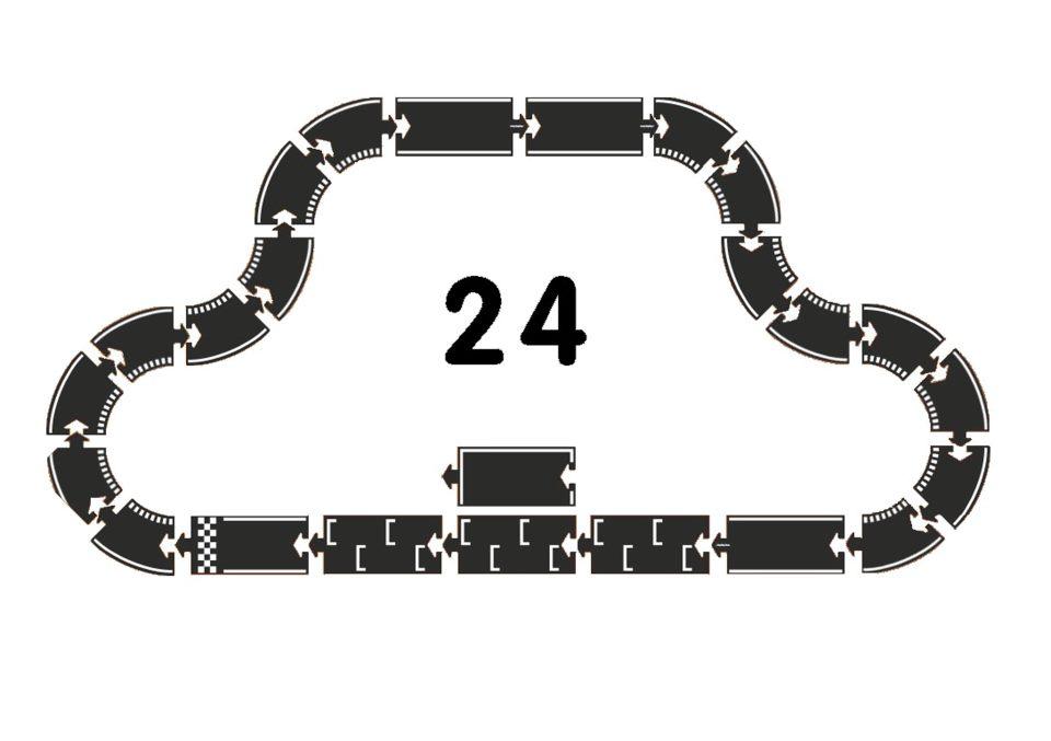Waytoplay - Grand prix, 24 stück