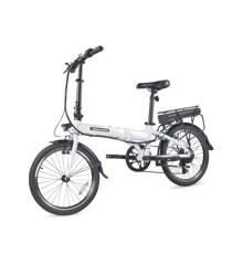 "Bikemate - Elektrisk/Hybrid Cykel 20"" 250w - Hvid"