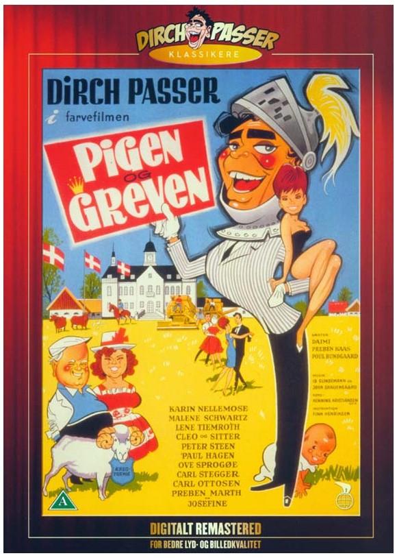 Pigen Og Greven - DVD