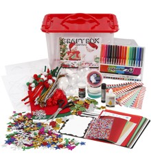 DIY Kit - Craft Materials with Storage Box - Christmas (97499)