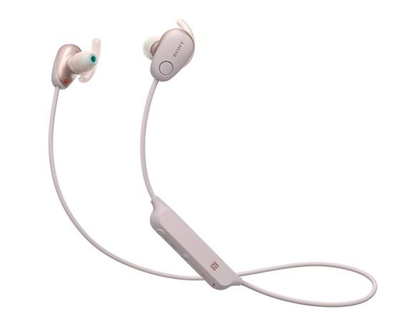 Sony - WI- SP600 N Wireless In-Ear Sports Headphones