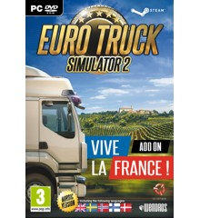 Euro Truck Simulator 2 - Vive La France! Add-On (Nordic)