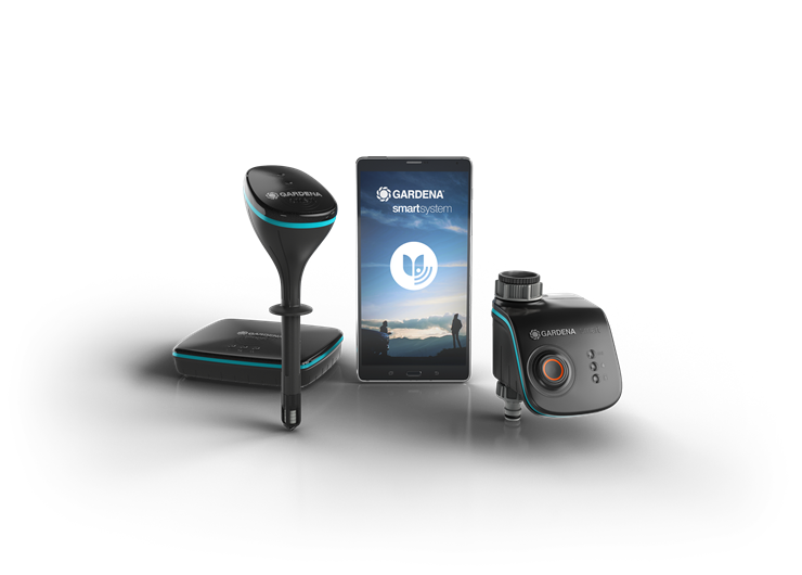 Gardena - Smart Water Control Set - Smart Sensor Included