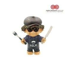 Good Luck Troll - Claus Holm - Bum Troll 14 cm - Medium (93170)
