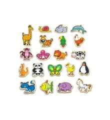 Viga - Wooden Magnets - Animals (N58923)