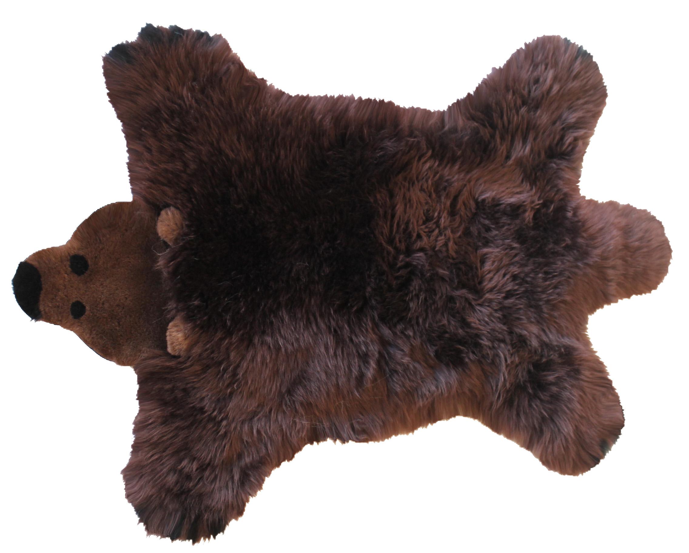 Bilde av Baby Dan - Bear Lambskin 60x97 Cm - Brown Bear